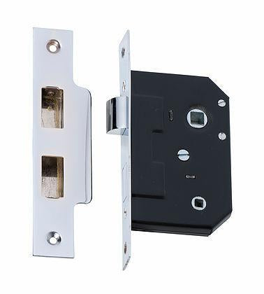 Tradco 'PRIVACY LOCK' Chrome Plate 2212 44mm