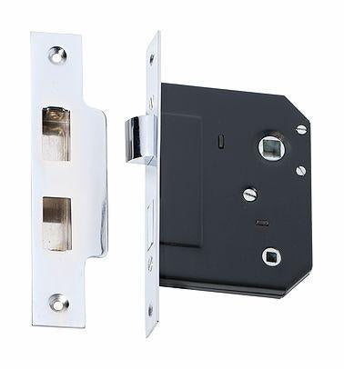 Tradco 'PRIVACY LOCK' Chrome Plate 2213 57mm