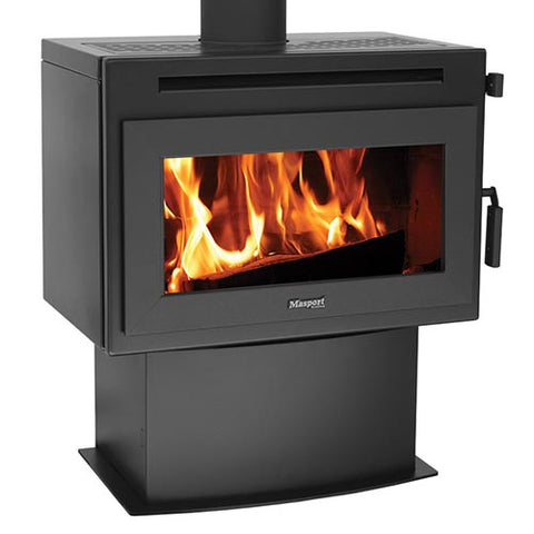 Masport FERNBANK - Cast-iron Freestanding Wood Heater