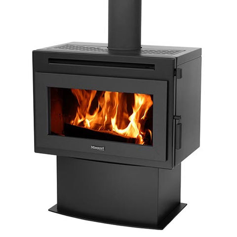 Masport FINLEY  - Cast-iron Freestanding Wood Heater