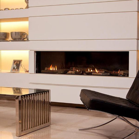 Ortal Front Facing Clear 170 Gas Fireplace