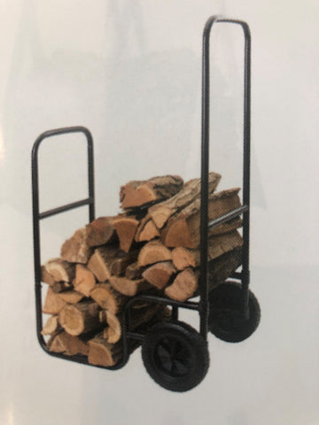 Melton Craft Fire Log Trolley Holder Black - JC092 NEW