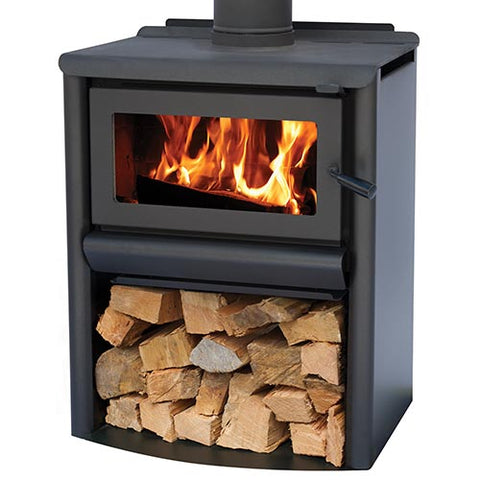 Masport RAVENHALL Woodstacker - Steel Freestanding Radiant Wood Heater