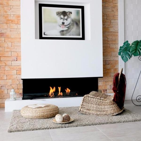 BioKamino BKBF-C Built in Bio-Fireplace