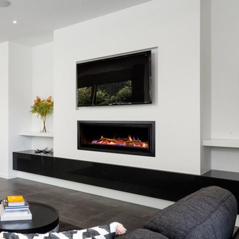 Heatmaster Seamless Landscape Fireplace