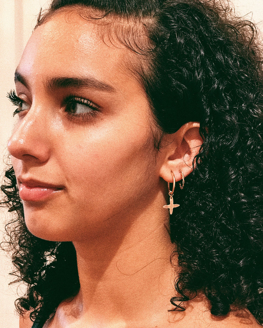 DANGLE HOOPS