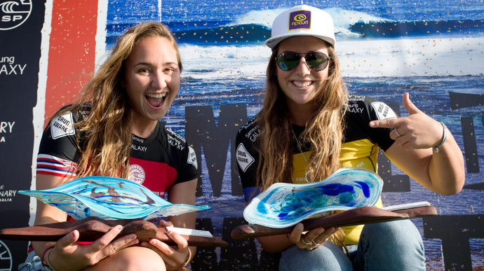 Celebrating International Women's Day with the World's Top Female Surfers