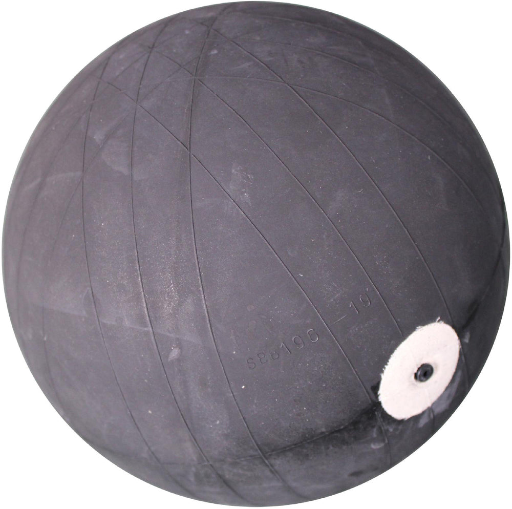 The bladder of a promotional basketball ready to receive the carcasses