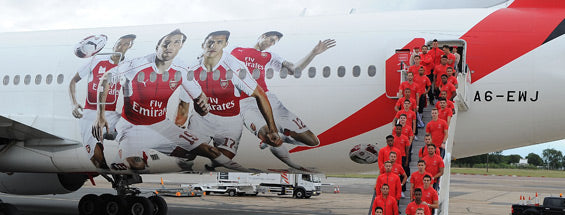 Emirates is one of the brands with an iron fist around sports sponsorships