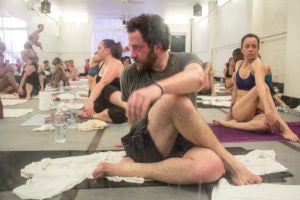 Bikram yoga is a fundamental hot yoga style.