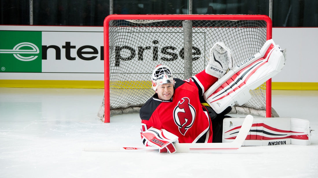Martin Brodeur humorous shorts are being used by Enterprise to gain attention from the Stanley Cup Playoffs