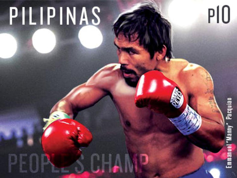 Manny Pacquiao prefers Cleto Reyes gloves, a Mexican boxing glove brand.