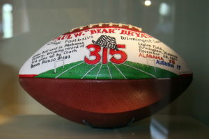 How do we print on a mini football?