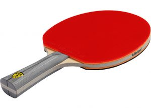 ping pong red paddle