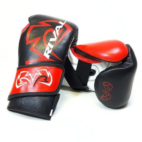 Anthony Joshua uses the Rival RFX-Guerrero boxing gloves.