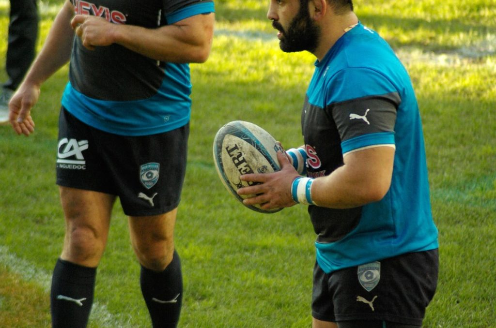 Size of a rugby ball is very important