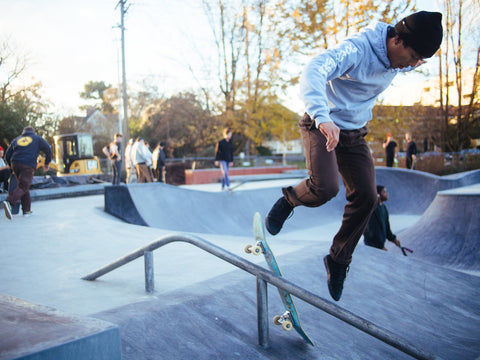 Skateboarding makes you accustomed with pain.