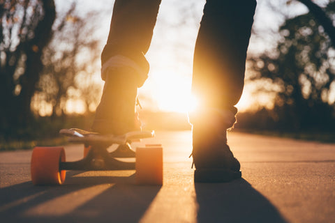 Skateboarding Is A Great Stress Reliever!