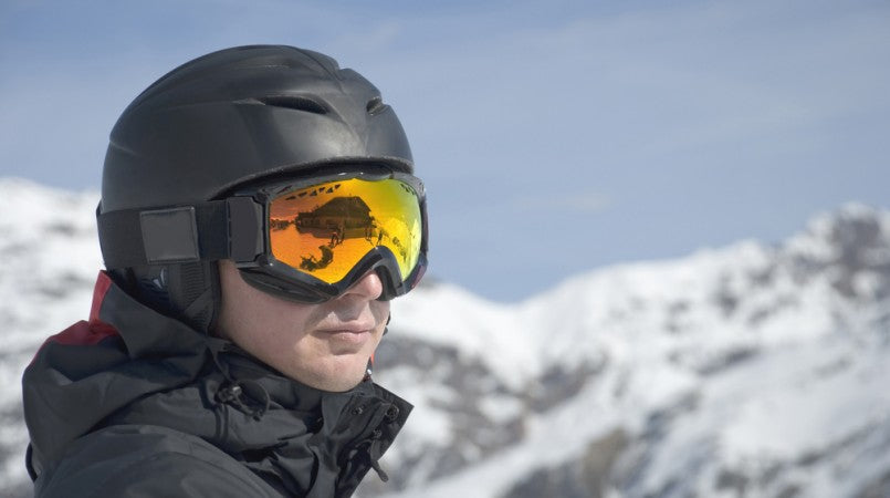 Snow goggles and helmets are both on our list of top winter promotional giveaways