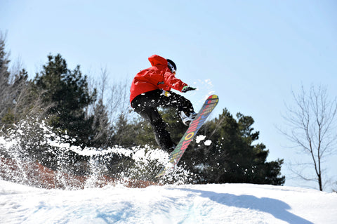 Passion about snowboarding is a must!