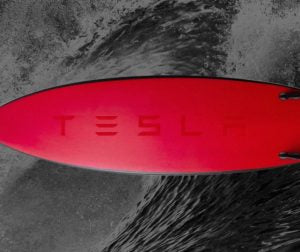 What are the Tesla surfboard specifications?