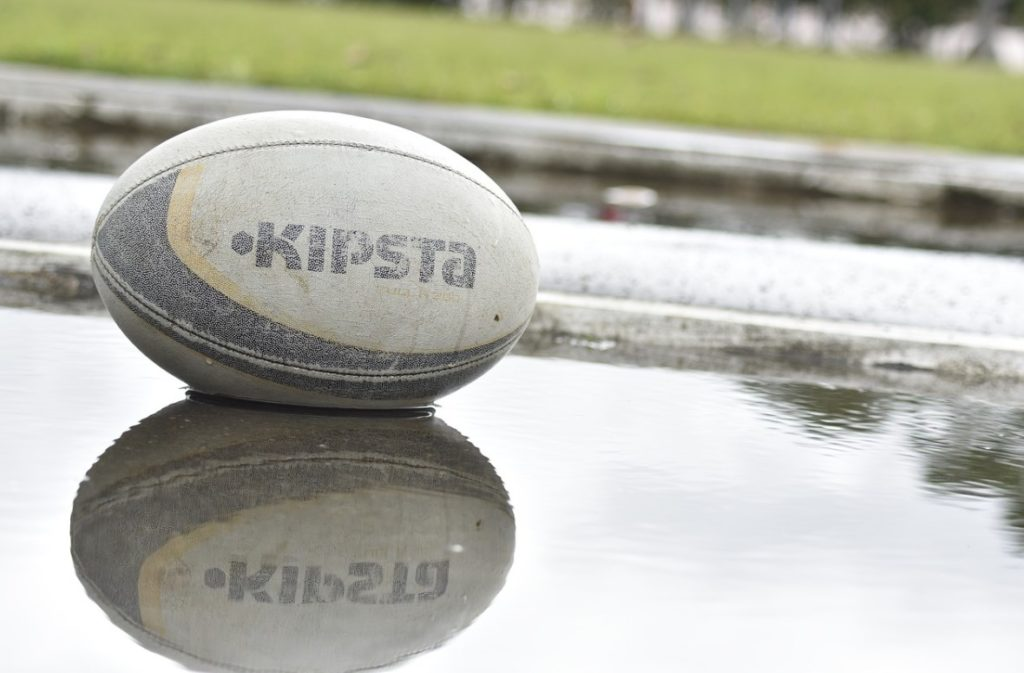 What are two ways to print rugby balls?