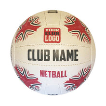 Load image into Gallery viewer, Custom Promotional Netball Branded Design your own