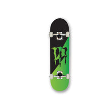 Load image into Gallery viewer, Monster Green Black custom promotional skateboard branded design your own