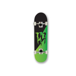 Monster Green Black custom promotional skateboard branded design your own