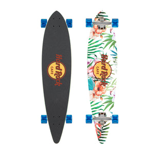 Hard Rock Cafe Custom Promotional Longboard Skateboard Tropical