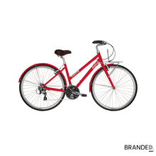 Load image into Gallery viewer, Red Custom Promotional Fixie Bike branded design your own