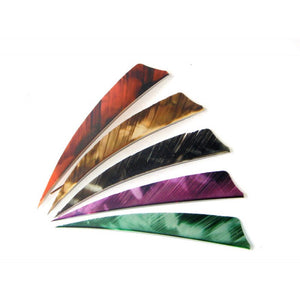 custom archery feathers