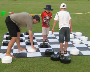 Branded Giant Checkers