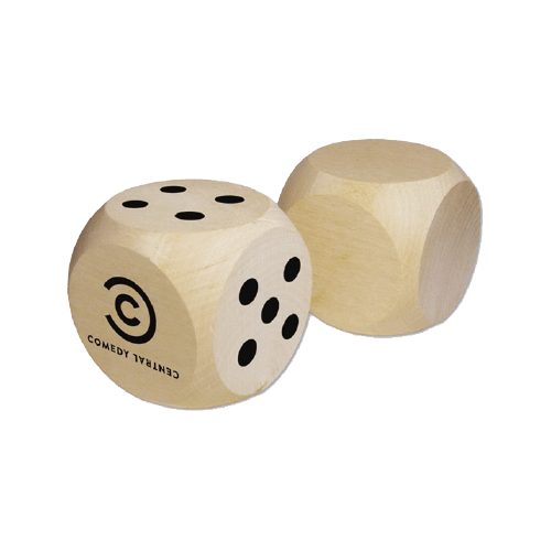 Promotional Giant Wooden Dice