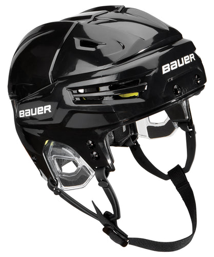 black plastic custom branded promotional ice hockey helmet