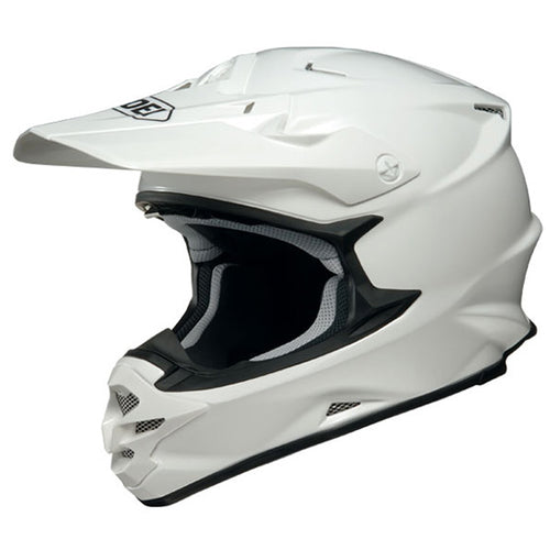 white cool custom branded promotional motorcross helmet