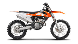 promotional motorcross bike