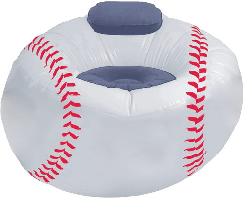 Inflatable Base Ball Chair