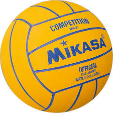 yellow blue competition custom branded promotional waterpolo ball