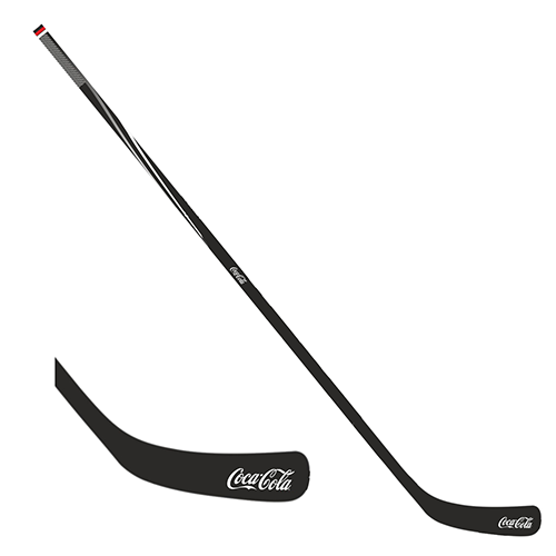 promotional ice hockey stick