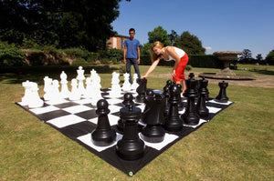 kids playing promotional giant chess disrupt sports