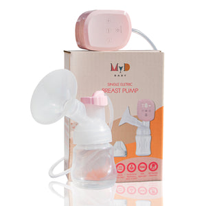 Single | Portable LCD Electric Breast Pump