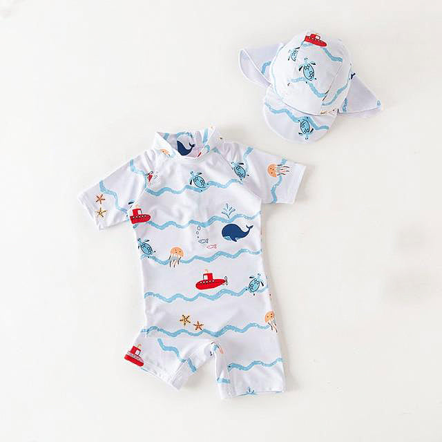 Children's Ocean Friends Swimsuit Set