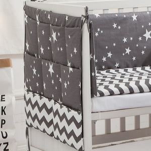 6 pcs Baby's Neutral Bedding Set