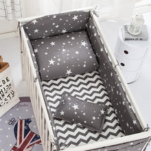 Load image into Gallery viewer, 6 pcs Baby's Neutral Bedding Set