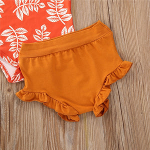 3pcs Boho Summer Baby Outfit