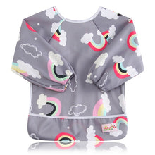 Load image into Gallery viewer, Baby's Long Sleeve Waterproof Bib
