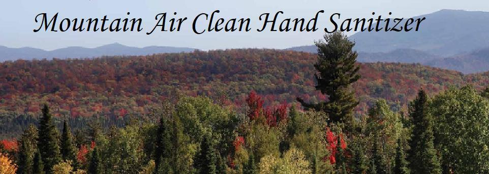 HAND SANITIZER! Mountain Air Clean