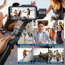 Baseus Handheld Gimbal Stabilizer 3-Axis Wireless Bluetooth Phone Holder Auto Motion Tracking for iPhone Action Camera