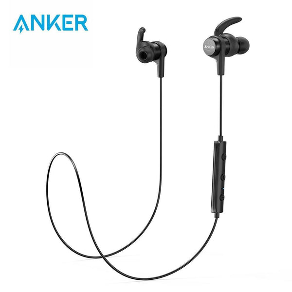 Anker SoundBuds Flow Lightweight Wireless Earphones Bluetooth Sports Water-Resistant Nano Coating - asmpick